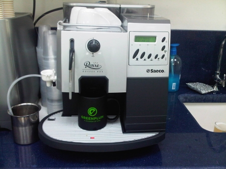Hi-Tech Office Espresso Machine