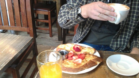 French Toast in The Grove with Strawberries