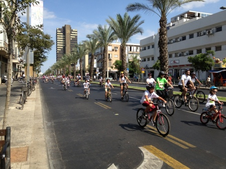 Tel Aviv Bicycle Race Sukkoth 2012